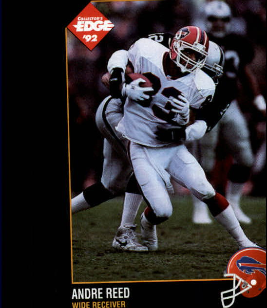 1992 Collector's Edge #9 Andre Reed