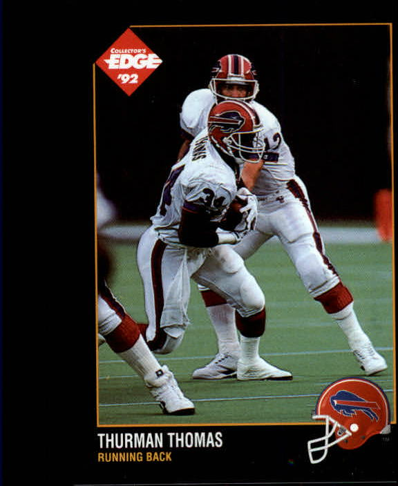 1992 Collector's Edge #11 Thurman Thomas