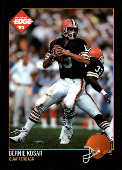 1992 Collector's Edge #25 Bernie Kosar