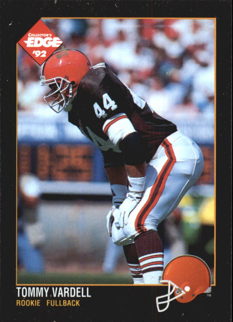 1992 Collector's Edge #176 Tommy Vardell RC