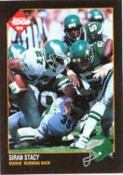 1992 Collector's Edge #185 Siran Stacy RC