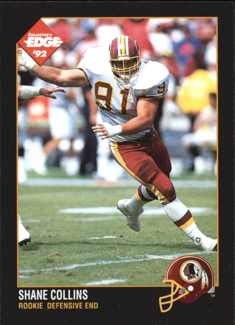 1992 Collector's Edge #189 Shane Collins RC