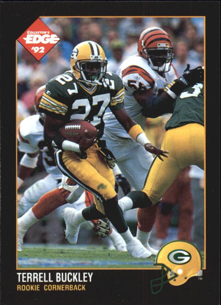 1992 Collector's Edge #190 Terrell Buckley RC