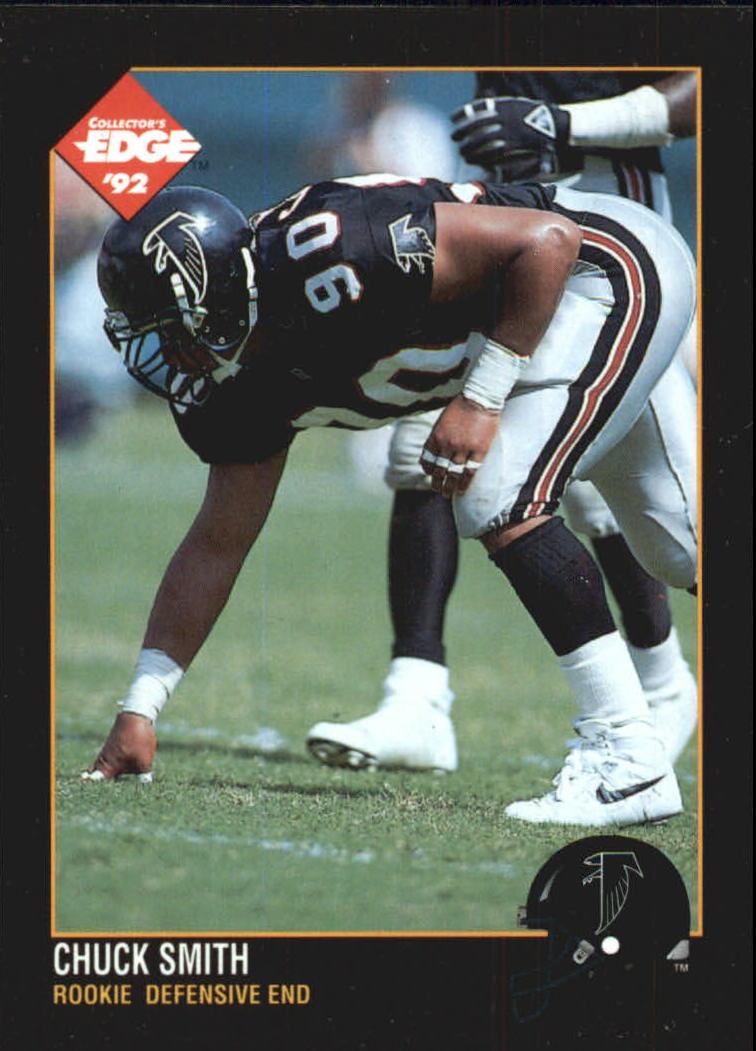 1992 Collector's Edge #193 Chuck Smith RC
