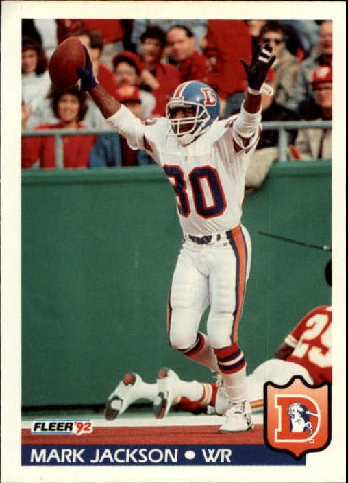 1992 Fleer #97 Mark Jackson