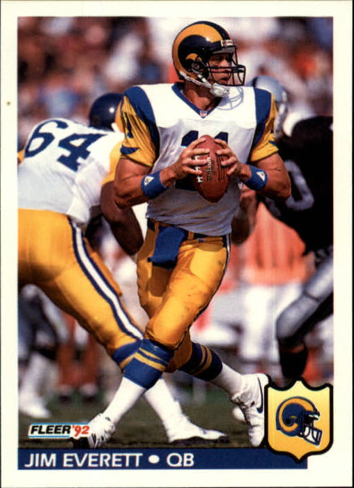 1992 Fleer #211 Jim Everett