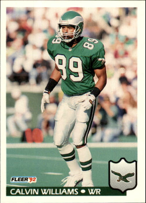 1992 Fleer #328 Calvin Williams