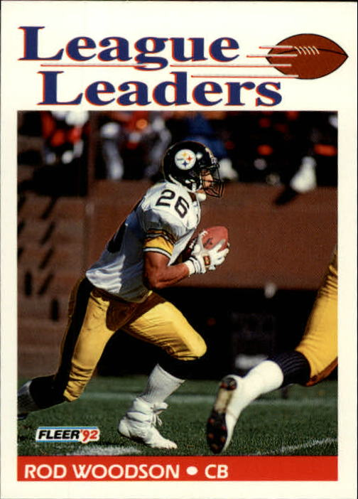1992 Fleer #466 Rod Woodson LL