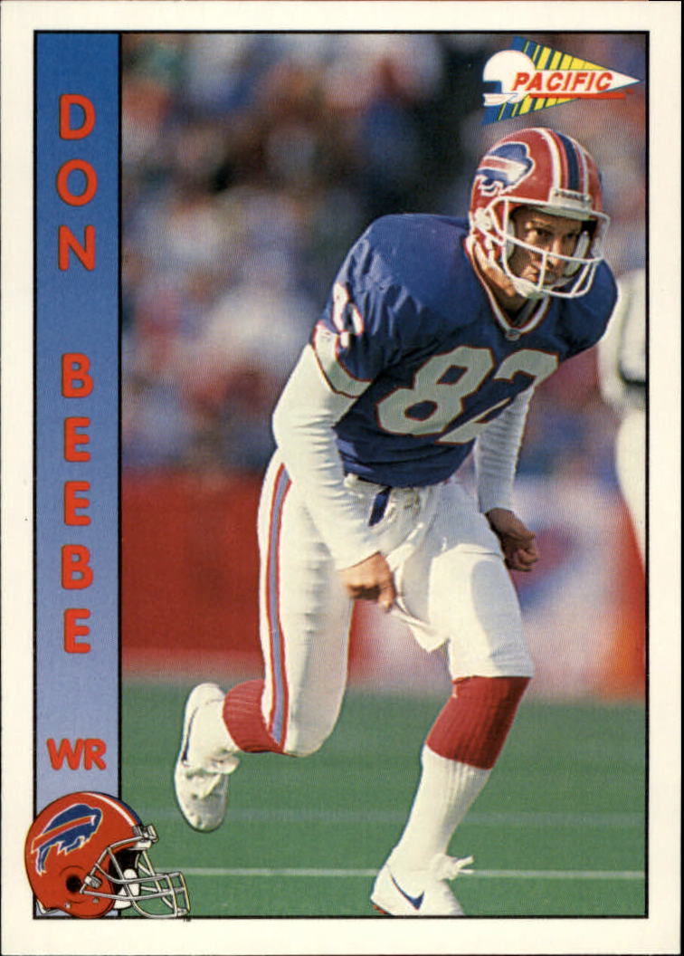 1992 Pacific #14 Don Beebe