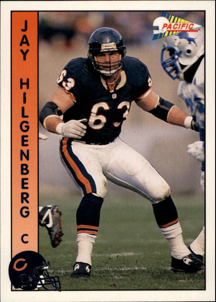 1992 Pacific #31 Jay Hilgenberg