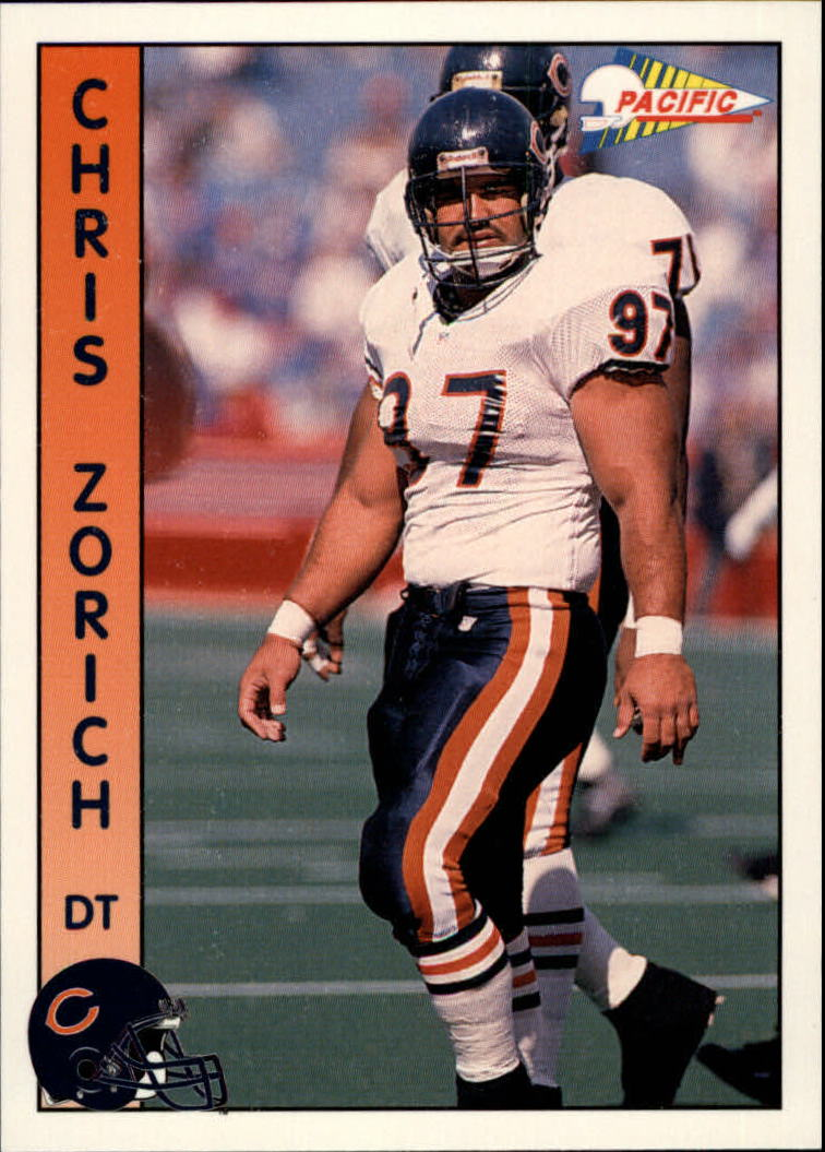 1992 Pacific #38 Chris Zorich