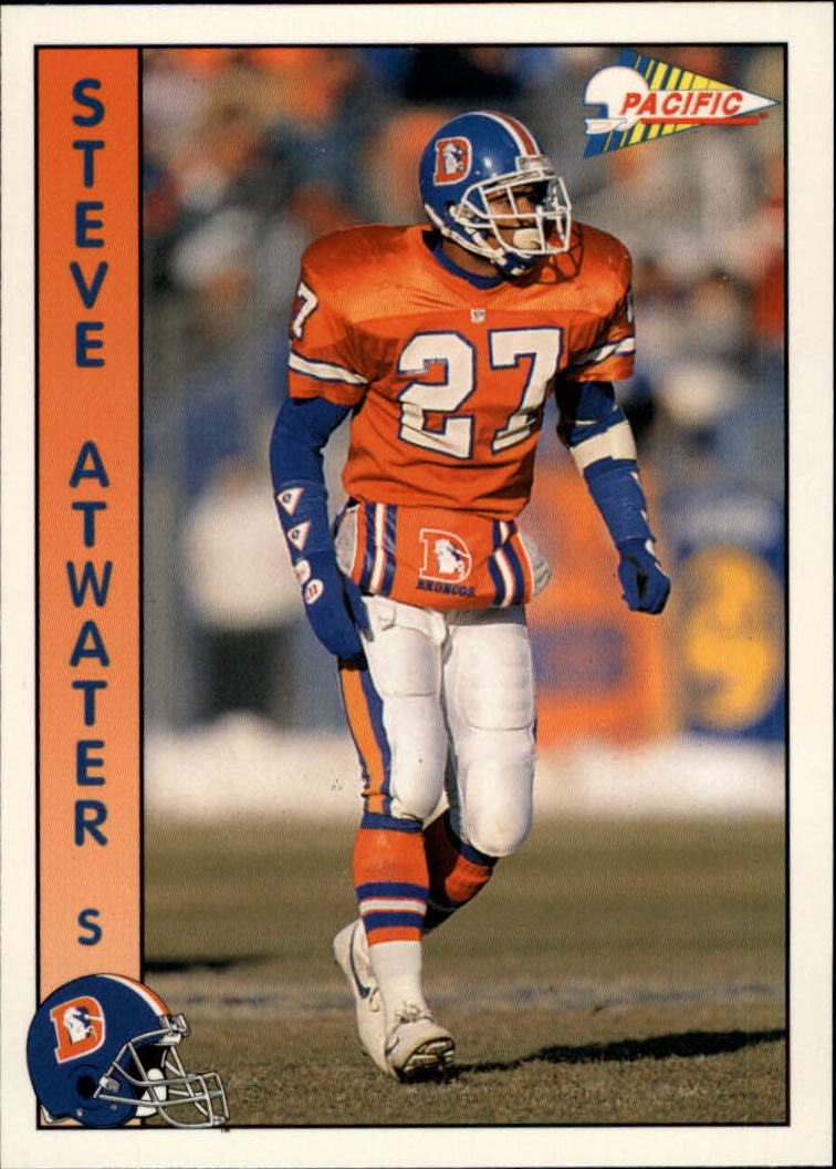 1992 Pacific #73 Steve Atwater