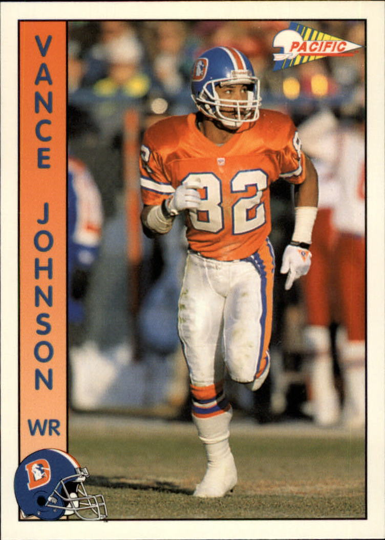 1992 Pacific #78 Vance Johnson