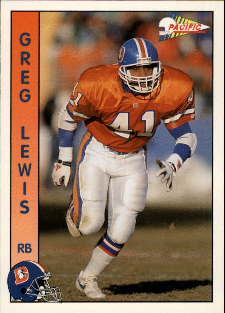 1992 Pacific #83 Greg Lewis