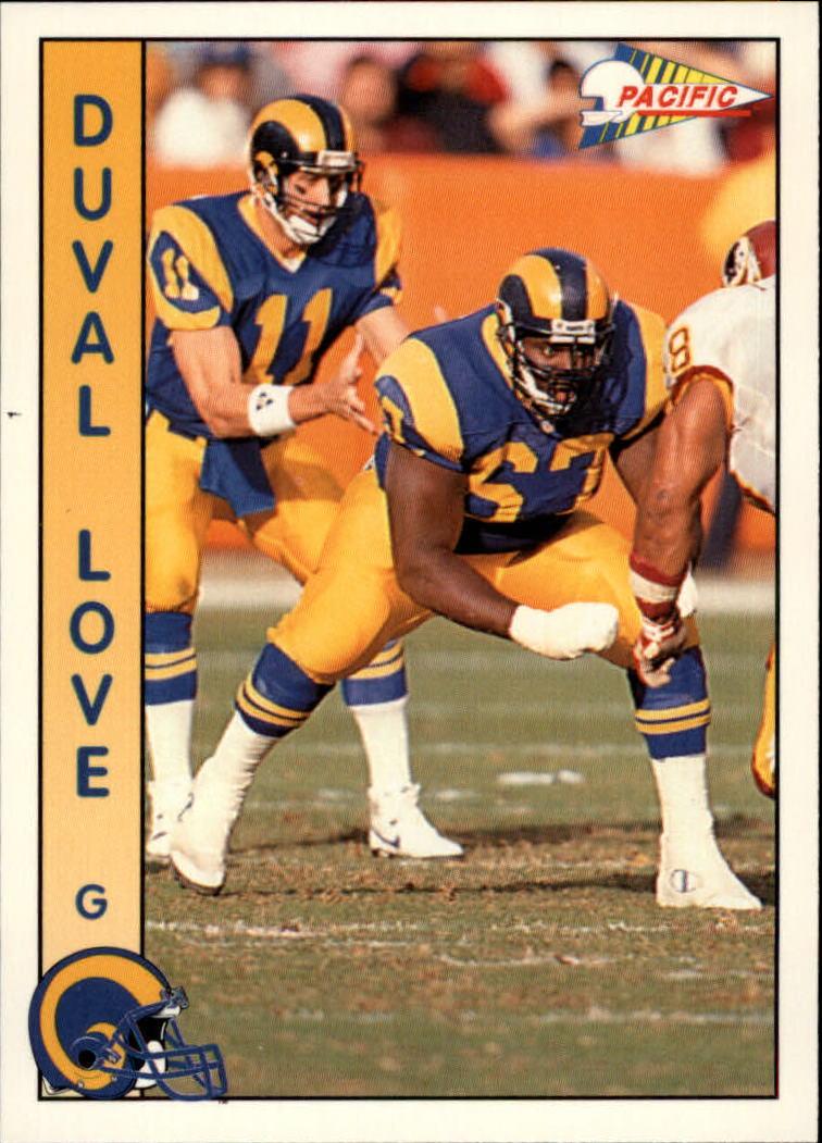 1992 Pacific #160 Duval Love