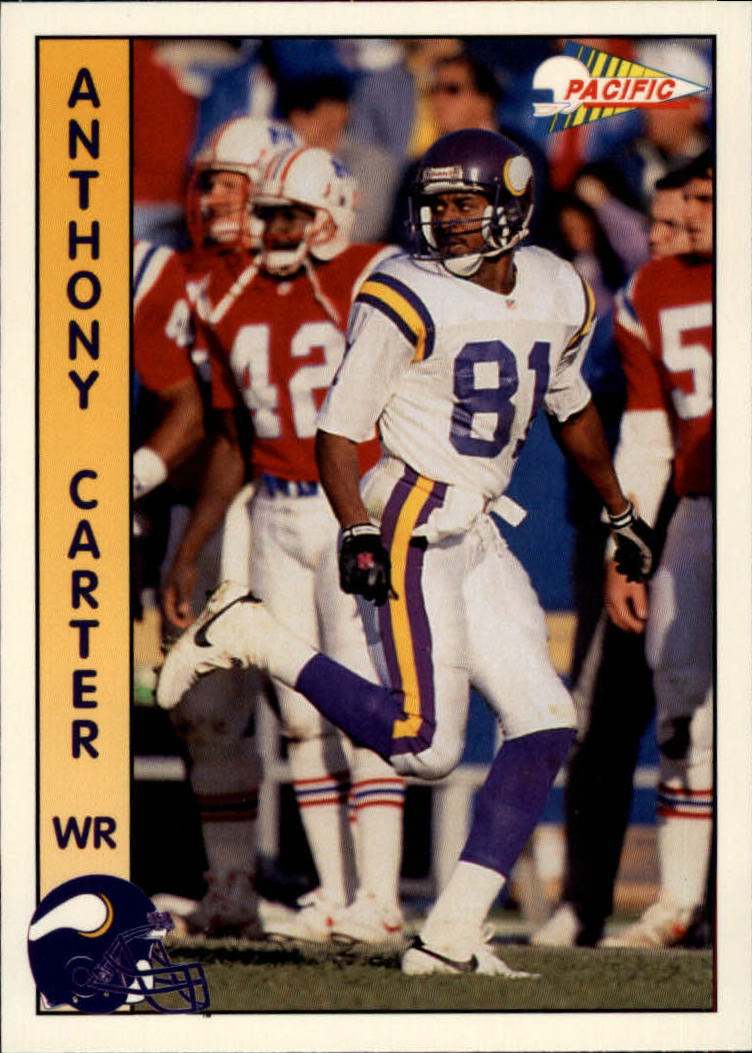 1992 Pacific #177 Anthony Carter