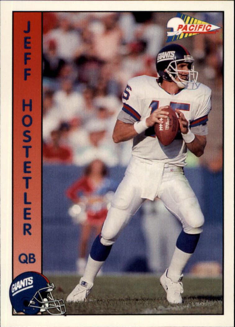 1992 Pacific #212 Jeff Hostetler