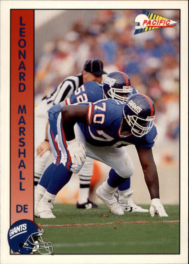 1992 Pacific #214 Leonard Marshall