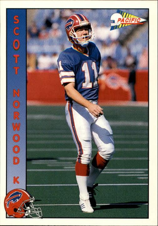 1992 Pacific #345 Scott Norwood