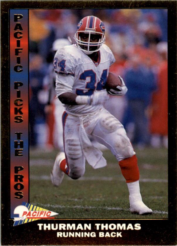 1992 Pacific Picks The Pros #6 Thurman Thomas