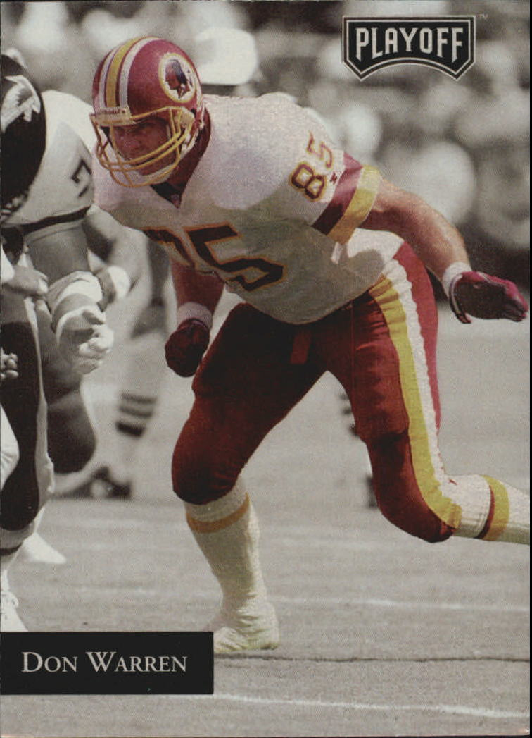 1992 Playoff #23 Don Warren