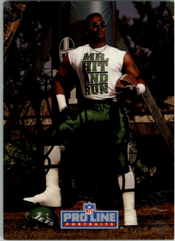 1992 Pro Line Portraits Autographs #4 Brad Baxter
