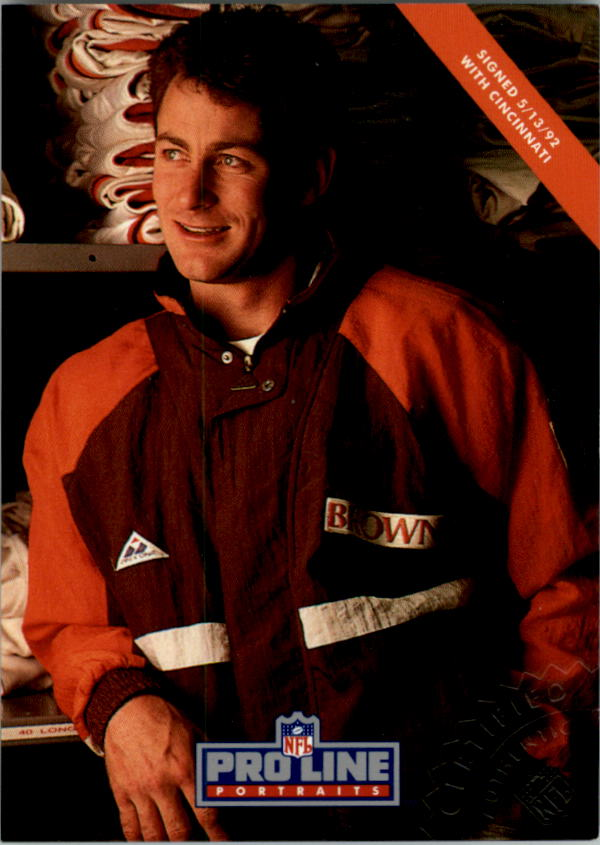 1992 Pro Line Portraits Autographs #8 Brian Brennan