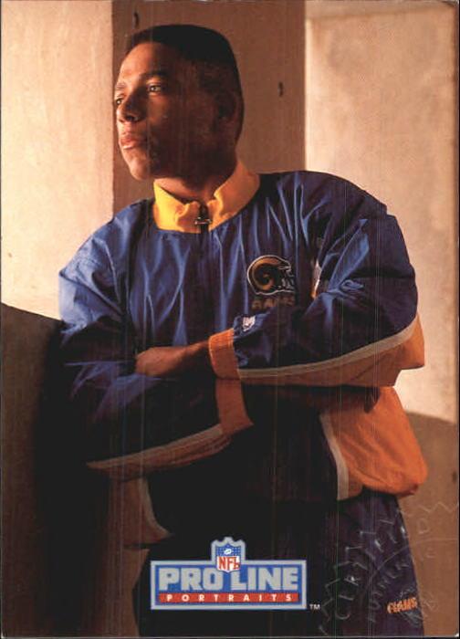1992 Pro Line Portraits Autographs #27 Aaron Cox