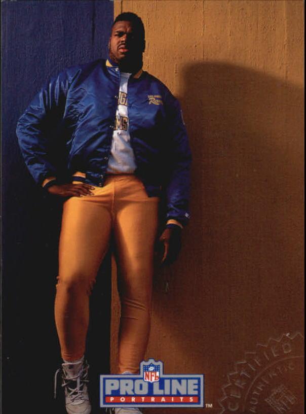 1992 Pro Line Portraits Autographs #54 Sean Gilbert