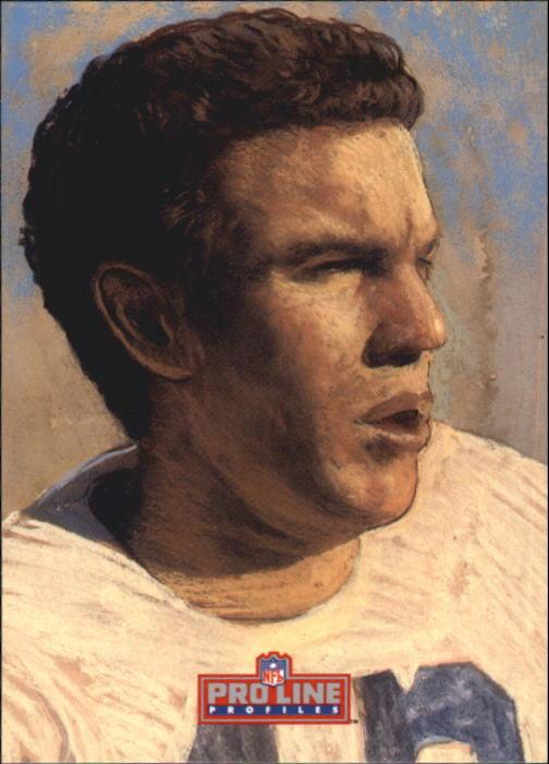 1992 Pro Line Profiles #41 Roger Staubach RET