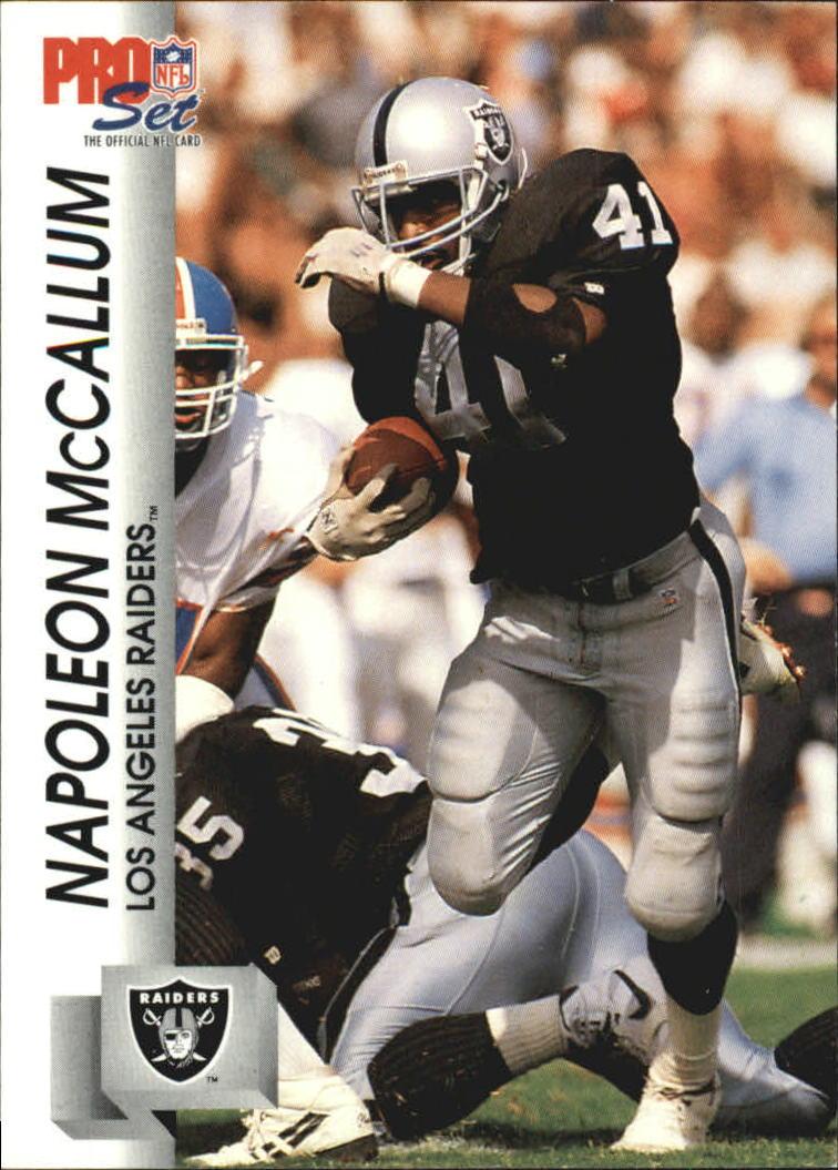 1992 Pro Set #541 Napoleon McCallum
