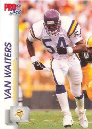 1992 Pro Set #571 Van Waiters RC