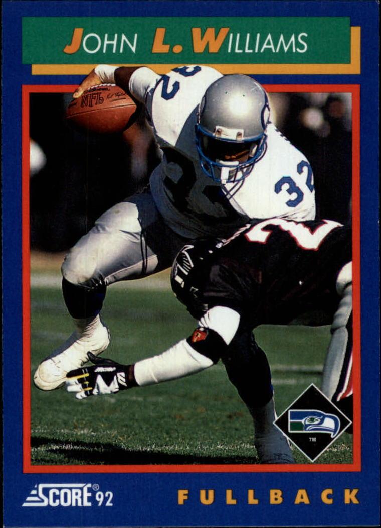 1992 Score #42 John L. Williams