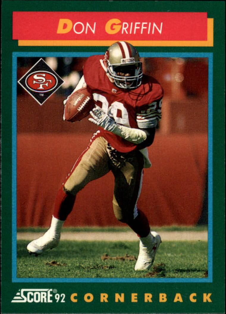 1992 Score #256 Don Griffin