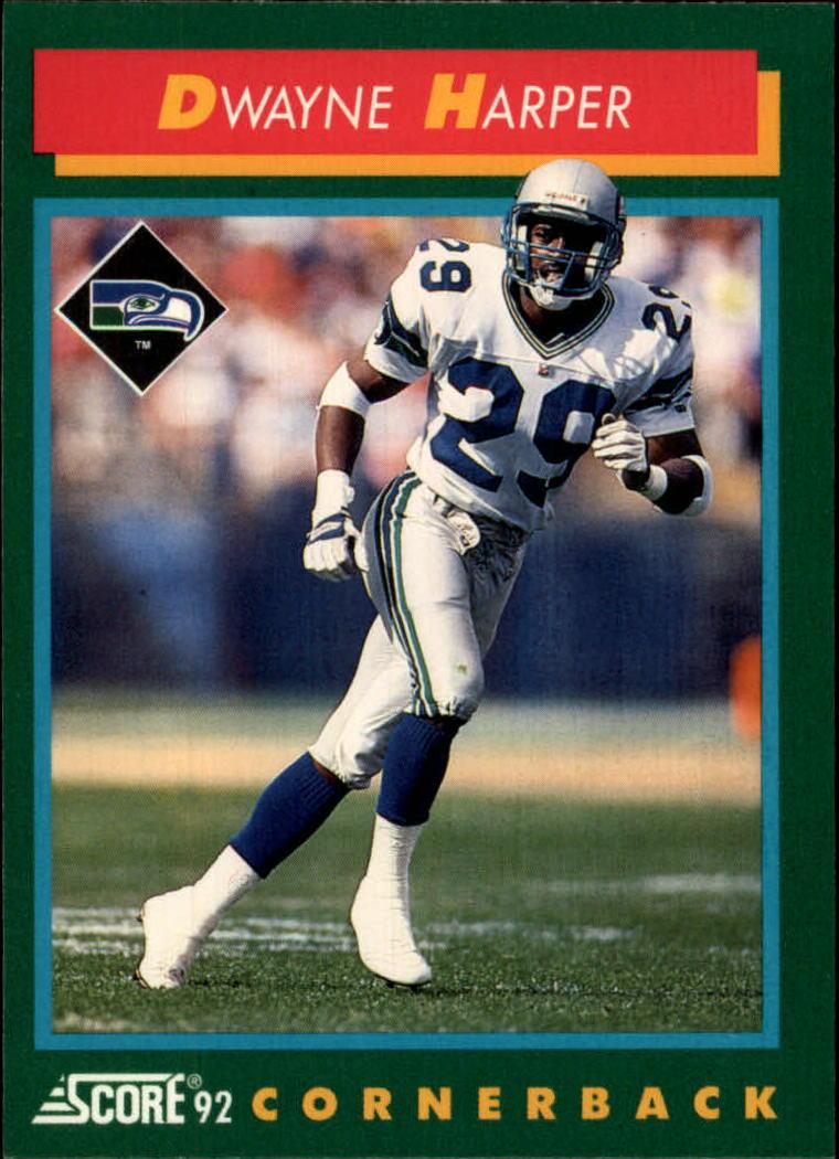 1992 Score #261 Dwayne Harper