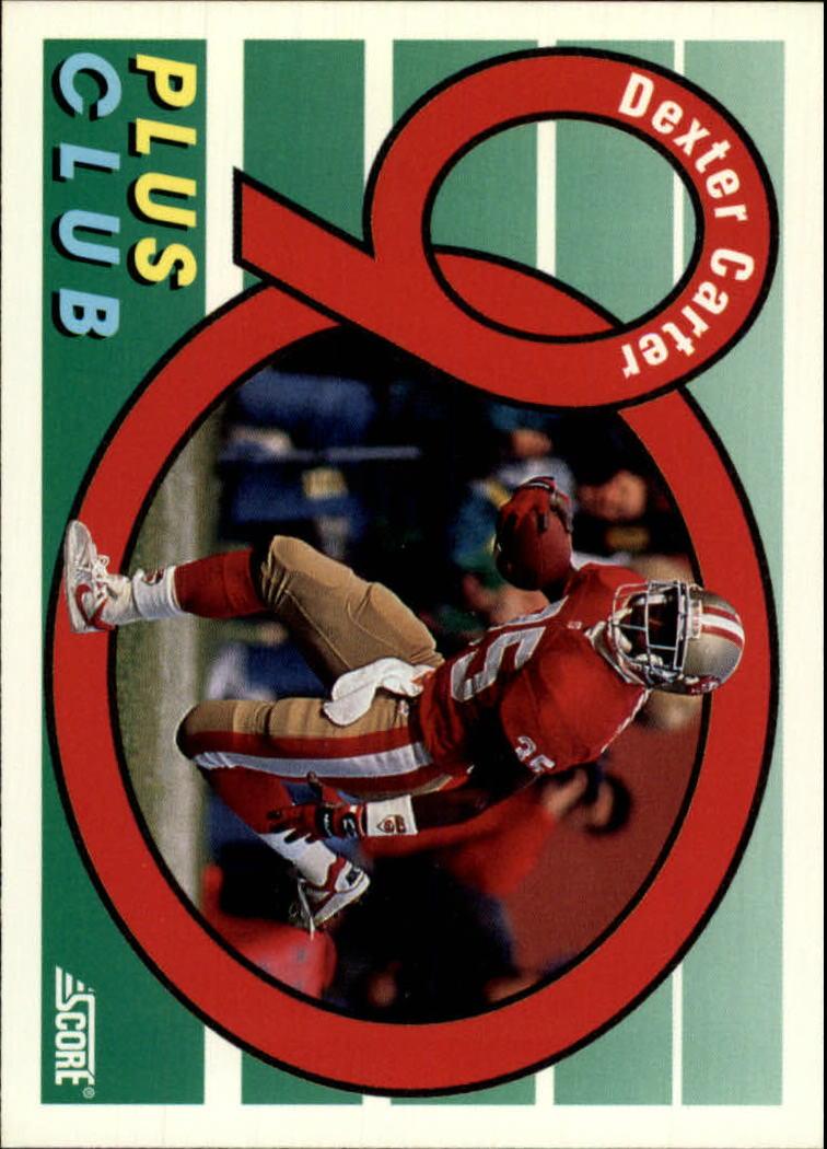 1992 Score #544 Dexter Carter 90