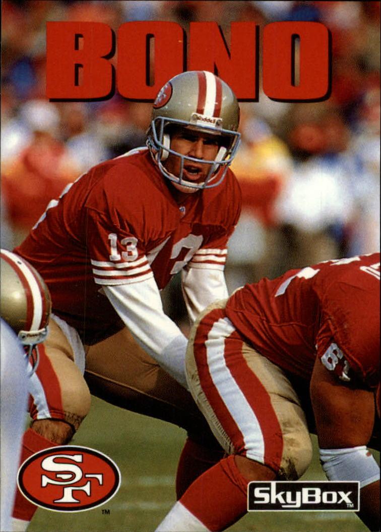 1992 SkyBox Impact #194 Steve Bono RC