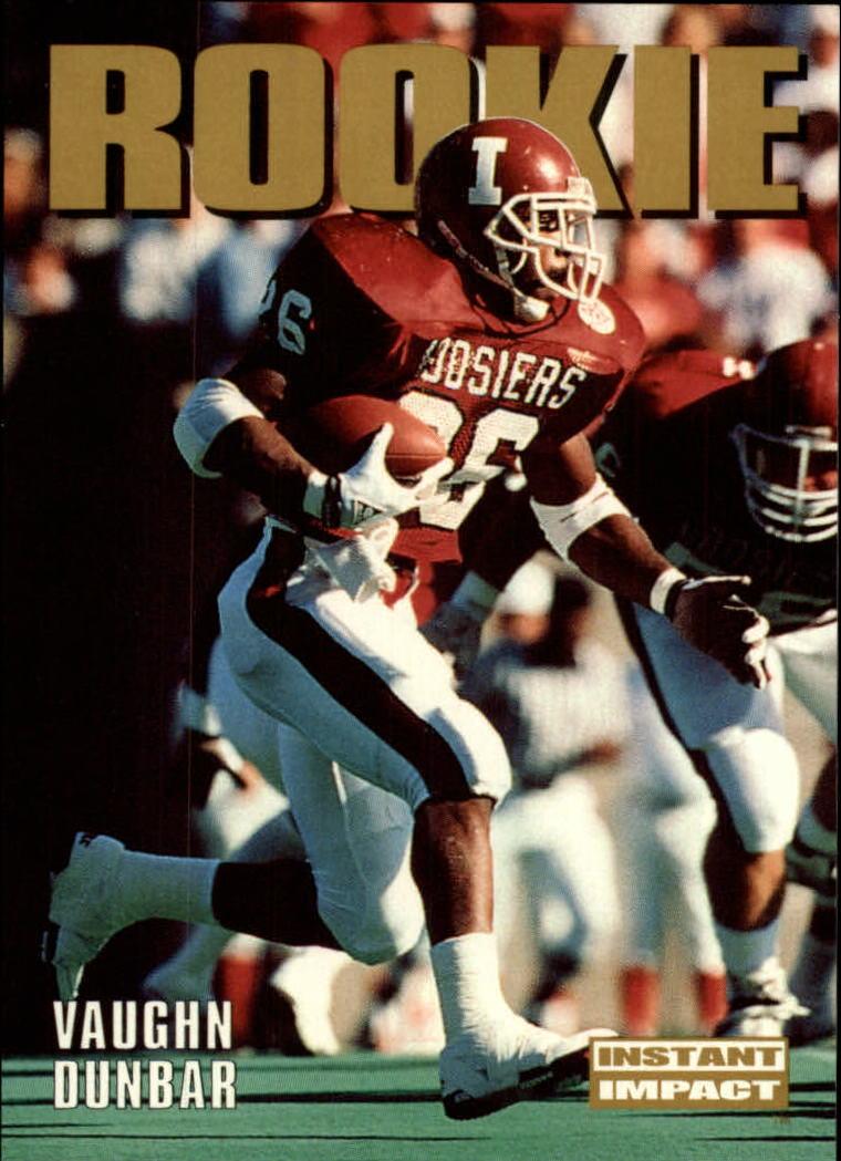 1992 SkyBox Impact #338 Vaughn Dunbar RC