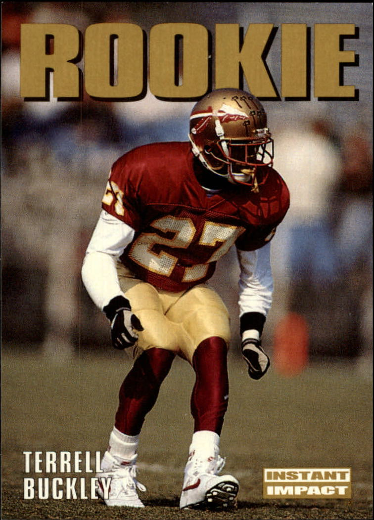 1992 SkyBox Impact #346 Terrell Buckley RC