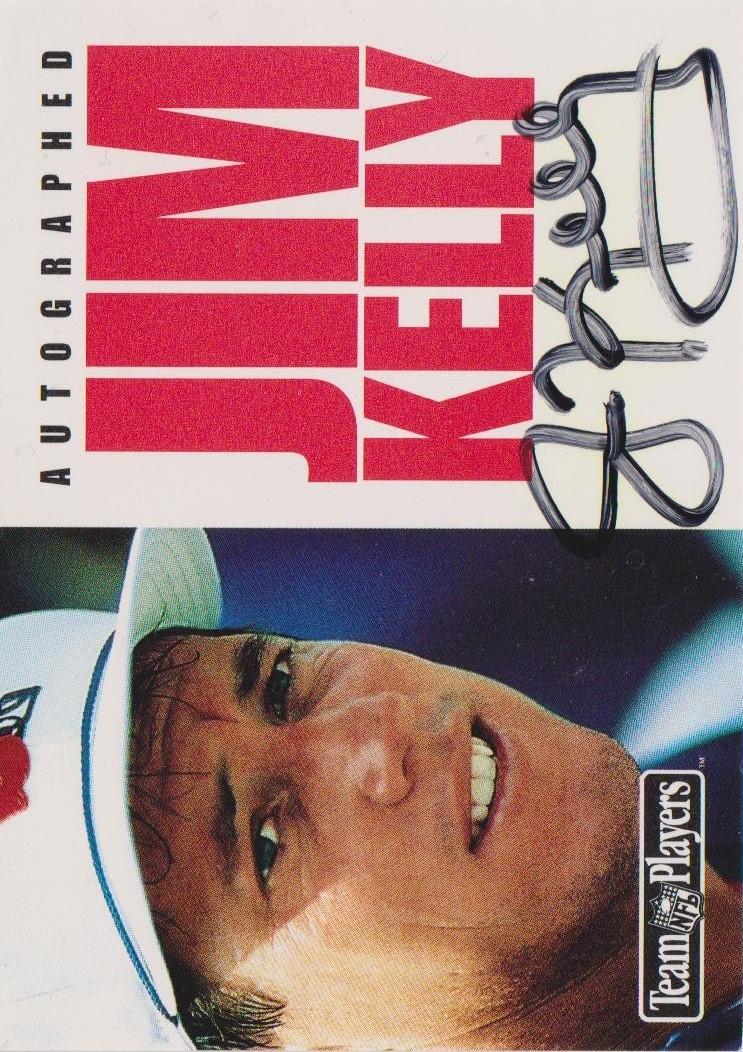 1992 SkyBox Impact #SP2AU Jim Kelly/Magic Johnson AU/500*