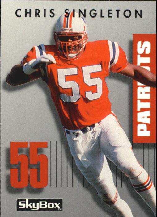 1992 SkyBox Prime Time #141 Chris Singleton