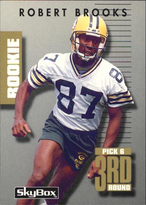 1992 SkyBox Prime Time #151 Robert Brooks RC