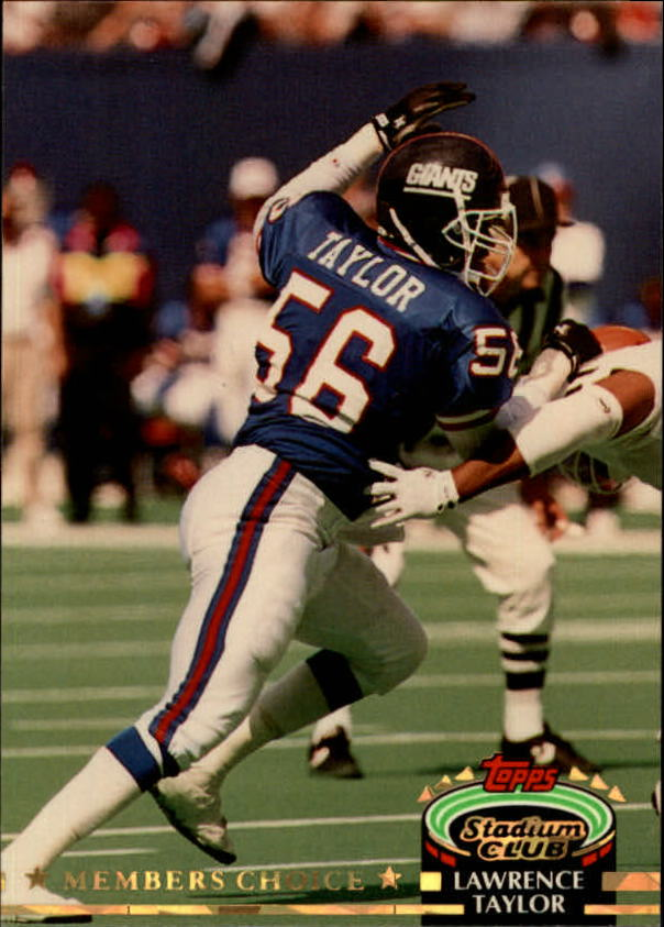 1992 Stadium Club #610 Lawrence Taylor MC