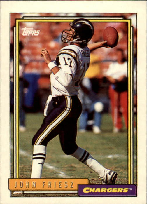 98ba55bf9 Buy 1992 Topps Sports Cards Online | Football Card Value & Checklist ...