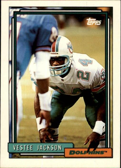 1992 Topps #94 Vestee Jackson