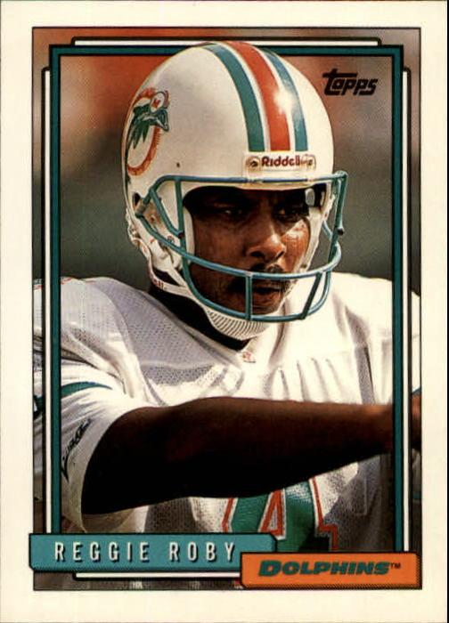 1992 Topps #390 Reggie Roby