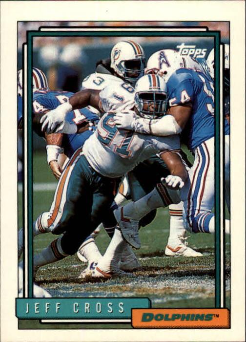 1992 Topps #516 Jeff Cross