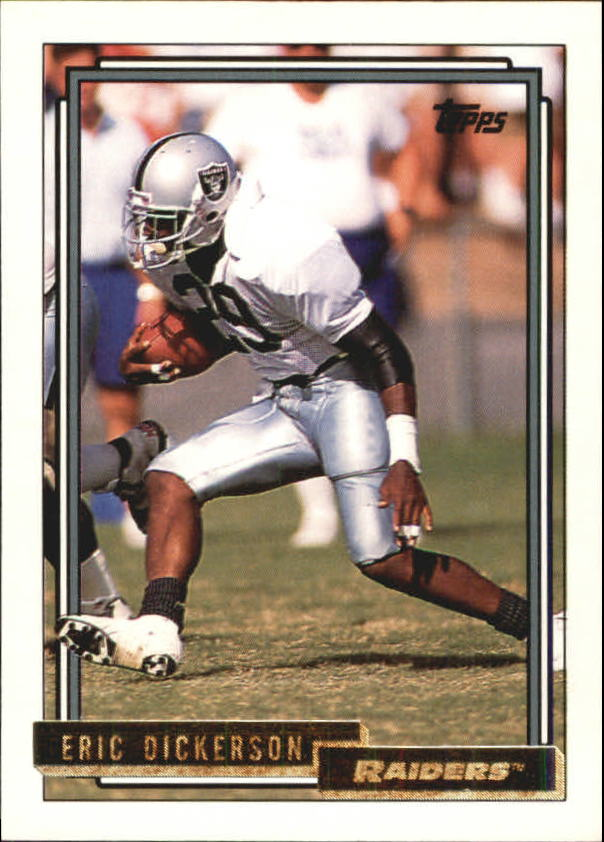 1992 Topps Gold #709 Eric Dickerson