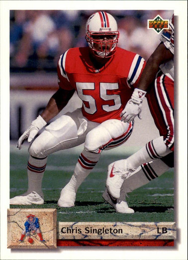 1992 Upper Deck #387 Chris Singleton