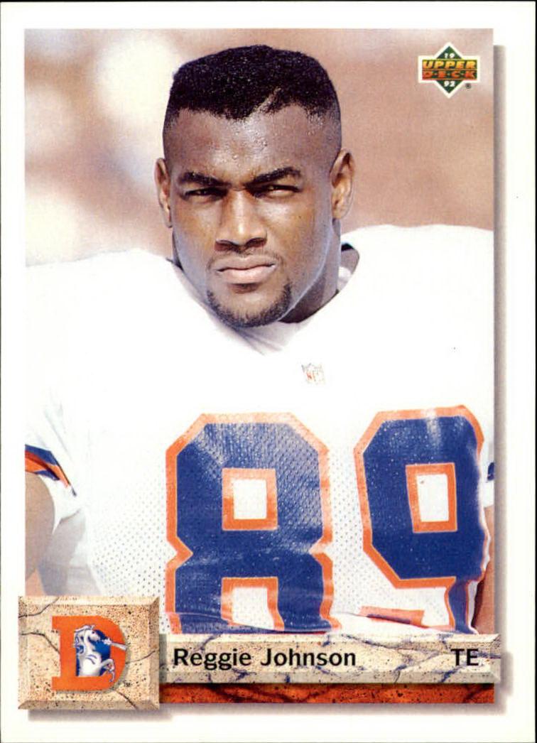 1992 Upper Deck #555 Reggie Johnson